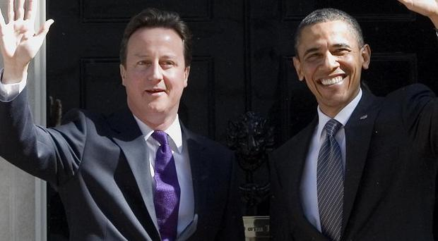 David Cameron and Barack Obama discussed the situation in Syria during a transatlantic telephone call