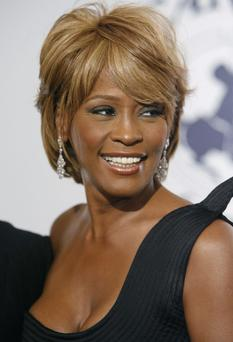 Whitney Houston pictured at the 17th Carousel of Hope Ball benefiting the Barbara Davis Center for Childhood Diabetes in Beverly Hills, Calif.