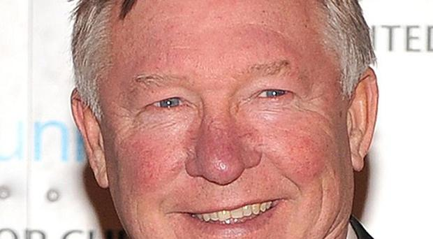 Manchester United manager Sir Alex Ferguson has voiced his backing for the Vita Cortex strikers