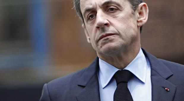 President Nicolas Sarkozy has staked his reputation on reducing the French deficit (AP)