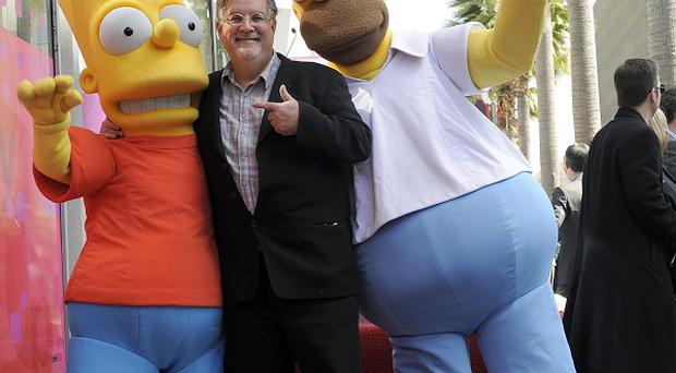 Matt Groening received a star on the Hollywood Walk of Fame