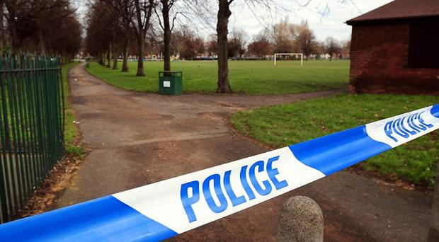 A general view of Elmfield Park, Doncaster, where the body of a 13-year-old girl named as Casey-Lyanne Kearney was found