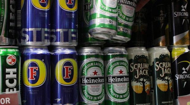 David Cameron is examining moves in Scotland to outlaw the sale of alcohol for less than 45p a unit