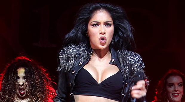 Nicole Scherzinger performing at the Waterfront Hall, Belfast Feb 2012