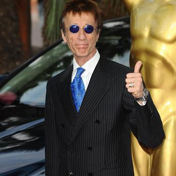 Robin Gibb made his comeback at a charity concert