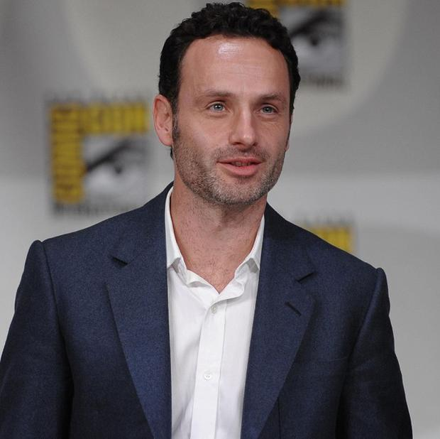 Andrew Lincoln stars in US show The Walking Dead (AP Photo/Denis Poroy)