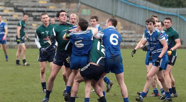 The fracas that marred last Sunday's NFL fixture between Monaghan and Kildare has now resulted in each county being handed down a proposed 5,000 penalty by the CCCC