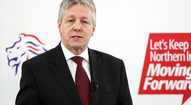 First Minister Peter Robinson feared he might have to leave frontline politics after going deaf in one ear