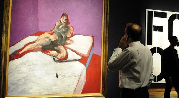 Francis Bacon's Portrait Of Henrietta Moraes has sold for 21 million pounds