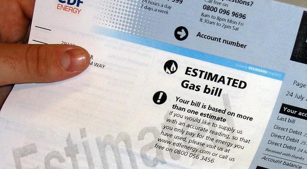 Energy firm EDF said underlying earnings were boosted by increased nuclear output and a drop in wholesale gas prices