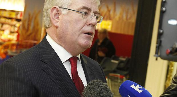 Tanaiste Eamon Gilmore said China offered huge possibilities to Ireland's economic recovery