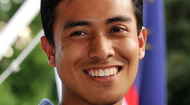 Ashraf Rossli had been in Britain for just a month when he was attacked during the London riots