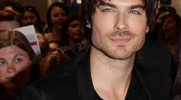 Ian Somerhalder campaigns on animal welfare issues