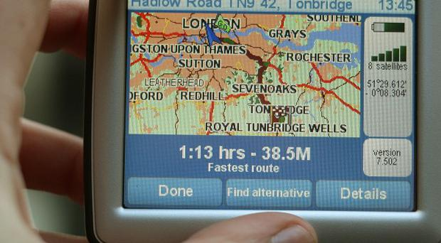 More than 50 per cent of drivers who have been directed the wrong way by their satnav admitted shouting at their device, a survey showed
