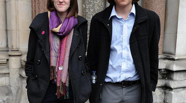 Katy Moore and Callum Hurley failed with their legal challenge over tuition fees