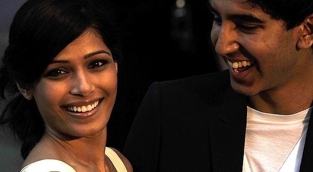 Freida Pinto said she and boyfriend Dev Patel are soulmates
