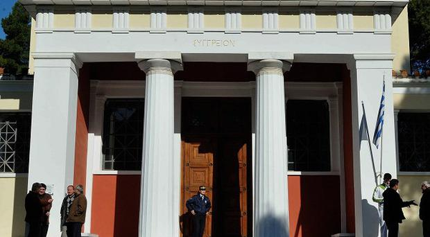 Armed robbers got away with dozens of pieces from the antiquities museum in Ancient Olympia (AP)