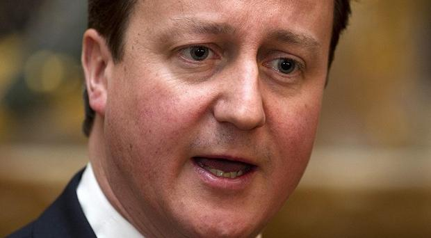 David Cameron will discuss NHS reform proposals with healthcare professionals at a meeting on Monday