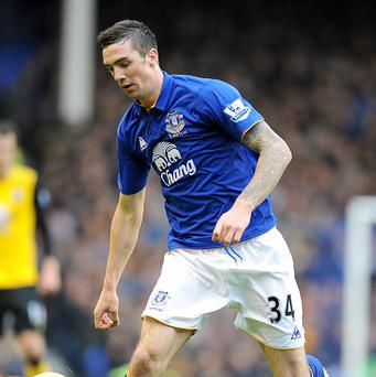 Shane Duffy plays for Everton in the Premier League