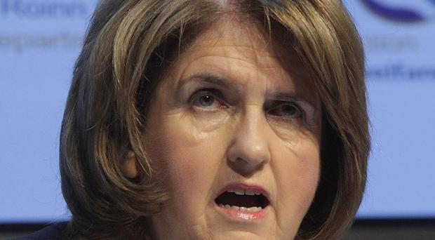 Minister for Social Protection Joan Burton says the Government has collected 645 million euro in a welfare fraud crackdown