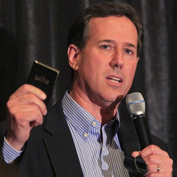 Republican presidential hopeful Rick Santorum is campaigning heavily in Ohio (AP)