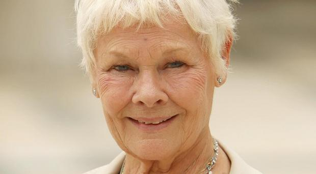 Dame Judi Dench has revealed she has problems with her sight