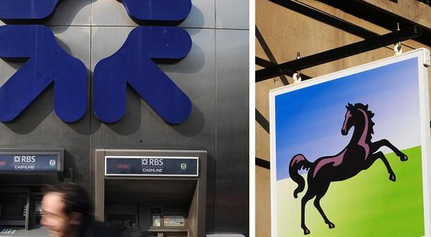 Both RBS and Lloyds Banking Group, bailed out with billions of pounds of taxpayer cash, are expected to post massive losses