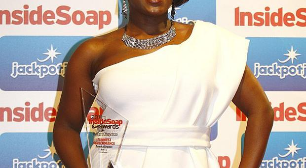 Tameka Empson and partner Laurie Brett reached the final of Let's Dance For Sport Relief