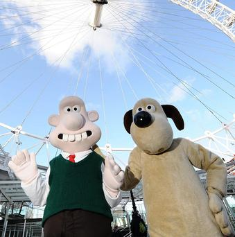 Wallace and Gromit are among the contenders for an animated character award