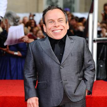 Warwick Davis has revealed he might get his own talk show