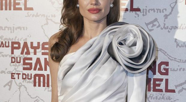 Angelina Jolie attended the Paris premiere of the film with partner Brad Pitt