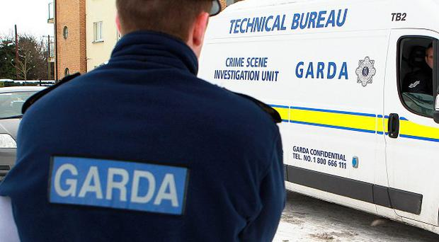Gardai have arrested five men on suspicion of involvement in organised crime