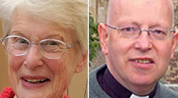 Police believe there may be a link between the deaths of Betty Yates and Reverend John Suddards