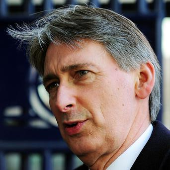 Defence Secretary Philip Hammond said there had been no recent change to force levels around the Falkland Islands