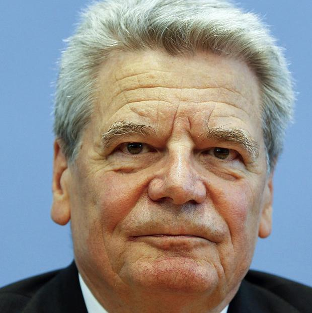 Joachim Gauck said he was honoured to be put forward as Germany's next president (AP)