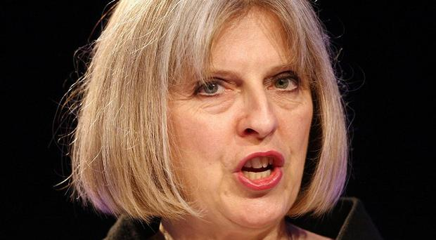 Theresa May said the UK border force will be split from UKBA and will become a separate operational command