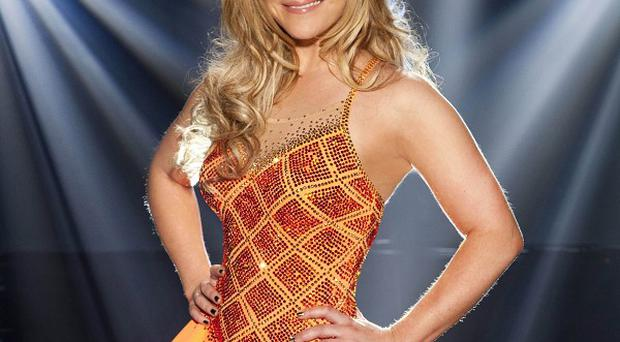 Sugababe Heidi Range has been booted off Dancing On Ice
