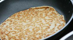 Perfect pancake and crepe recipes - a good pan is important