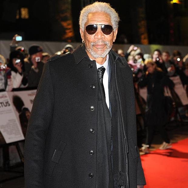 Morgan Freeman narrates the film Born To Be Wild 3D