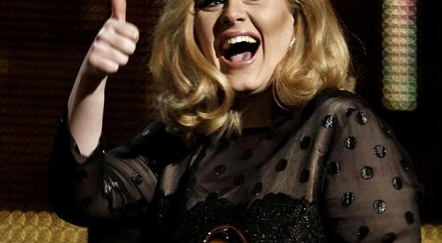Adele is up for three Brits after she won six Grammys (AP/Matt Sayles)