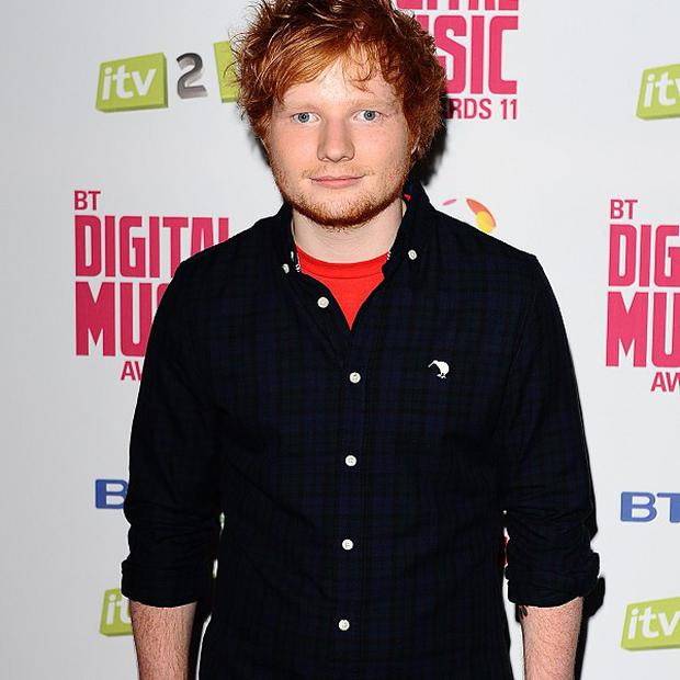 Ed Sheeran will be making an effort for the Brits