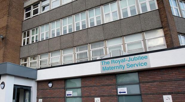 Three newborn babies died at the Royal Jubilee Maternity Hospital in Belfast last month