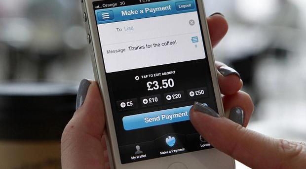 Barclays recently unveiled the Pingit app which allows cash transfers through a mobile phone