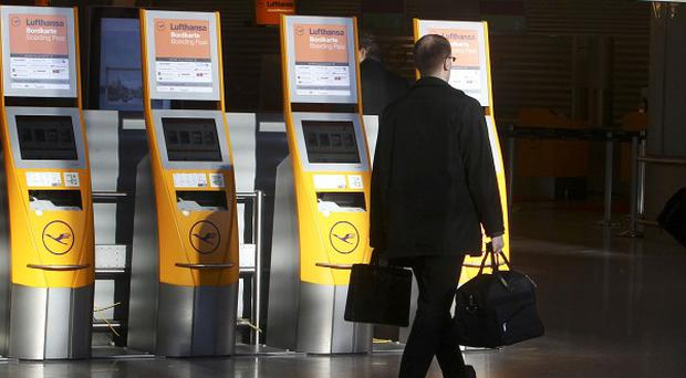 The union representing ground staff at Frankfurt Airport is extending strike action until Friday (AP)