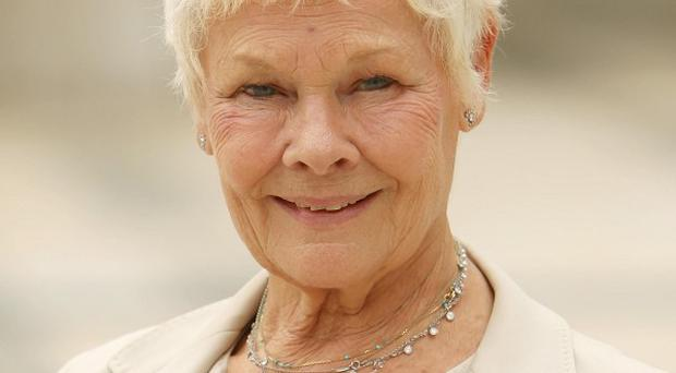 Dame Judi Dench says she is not going blind