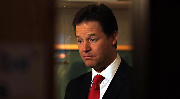 Deputy Prime Minister Nick Clegg announced a scheme to get 16 and 17-year-olds back into employment or education