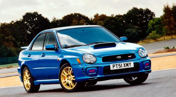subaru 39 s much loved impreza re surfaces as the wrx. Black Bedroom Furniture Sets. Home Design Ideas
