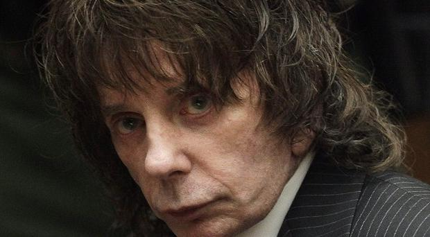 Phil Spector is serving 19 years to life in prison for the murder of actress Lana Clarkson (AP/Jae C Hong)