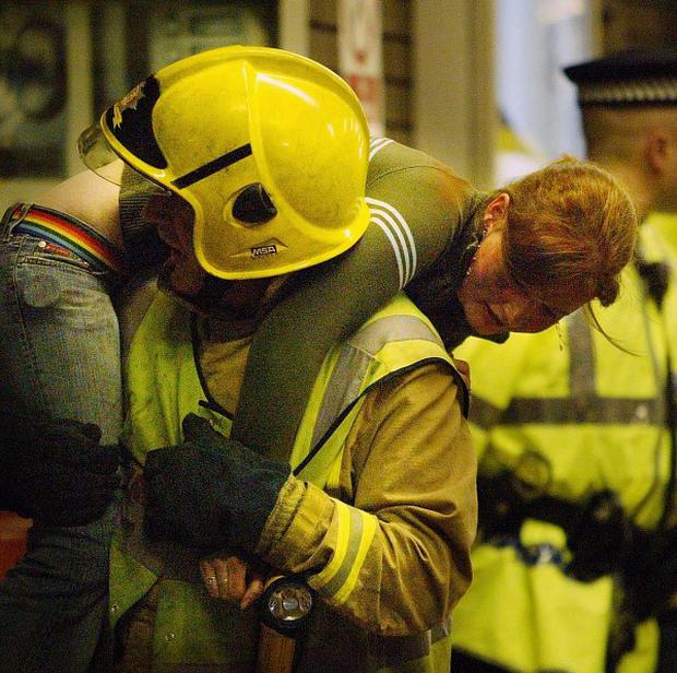 An exercise is being held to test the response to a terrorist incident on the London Underground network during the Olympics