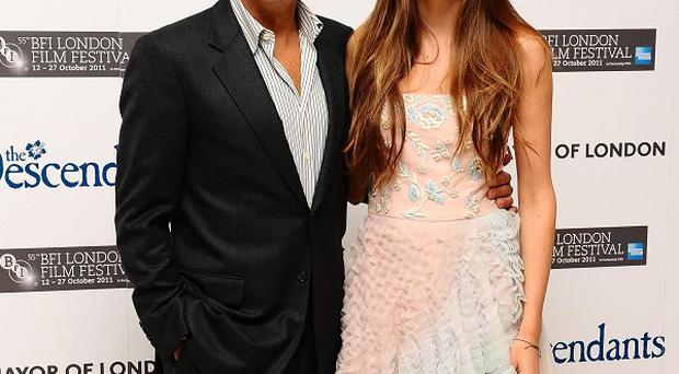 George Clooney and Shailene Woodley play father and daughter in The Descendants